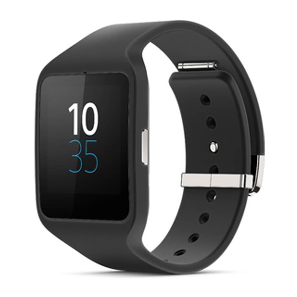 Sony - SWR50 - Smart Watch - Android 4.3  - Black