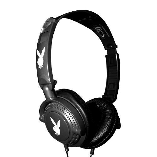 Playboy -  Komfort DJ Stereo Headset - 3,5mm jack > Black