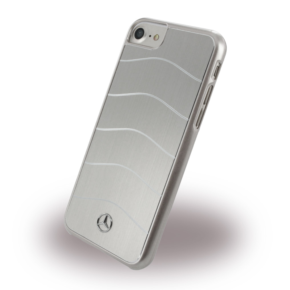 Mercedes Benz - WAVE VIII MEHCP7CUSALSI - Hard Cover - Apple iPhone 7 - Silver