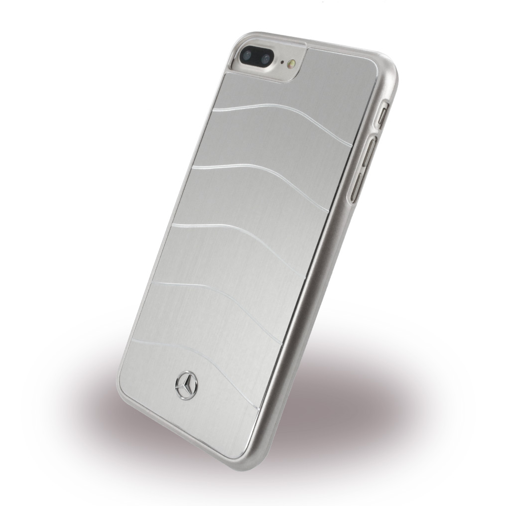 Mercedes Benz - WAVE VIII MEHCP7LCUSALSI - Hard Cover - Apple iPhone 7 Plus - Silver