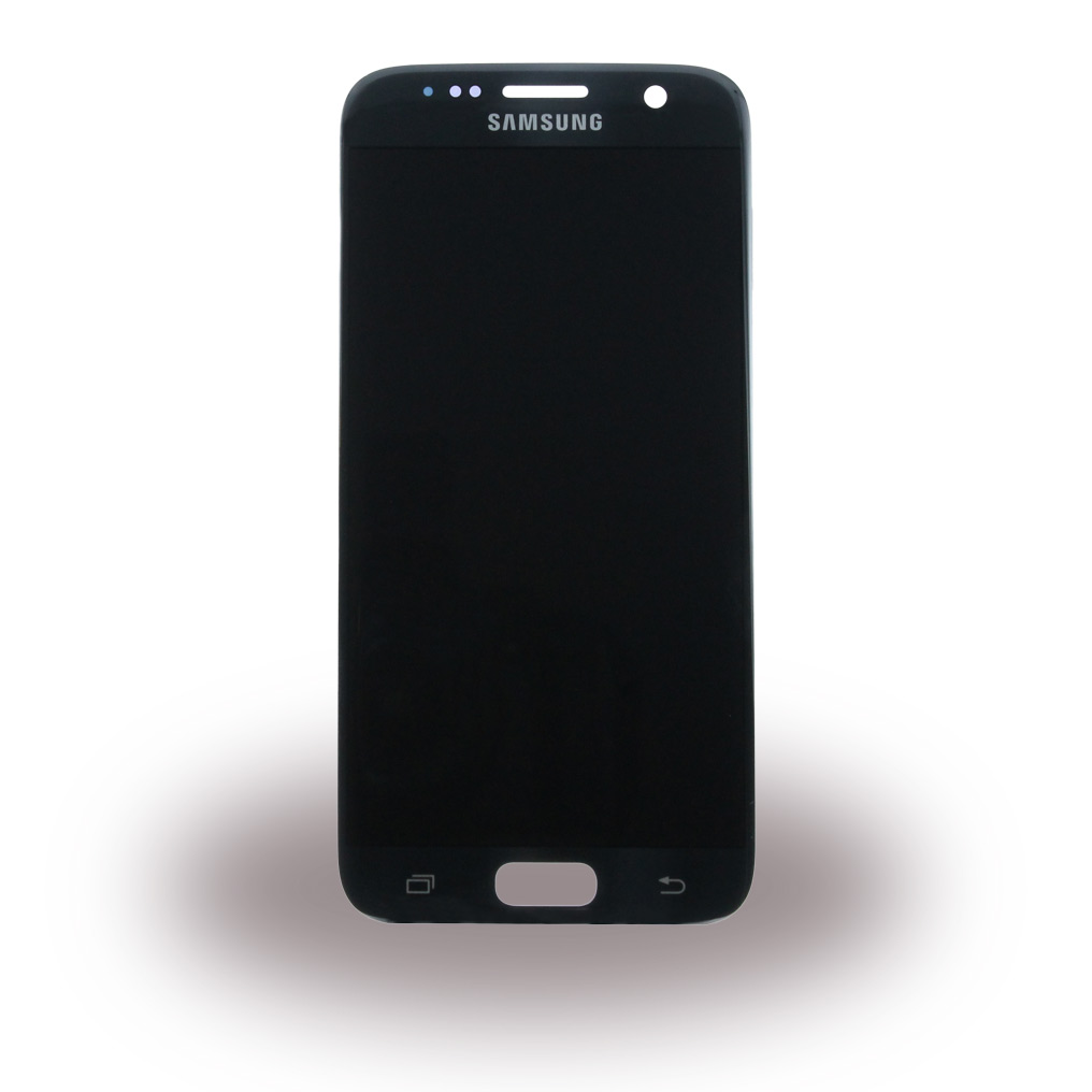 Original Spare Part Samsung - GH97-18523A - LCD Display + Touch Full Set - G930F Galaxy S7 - Black