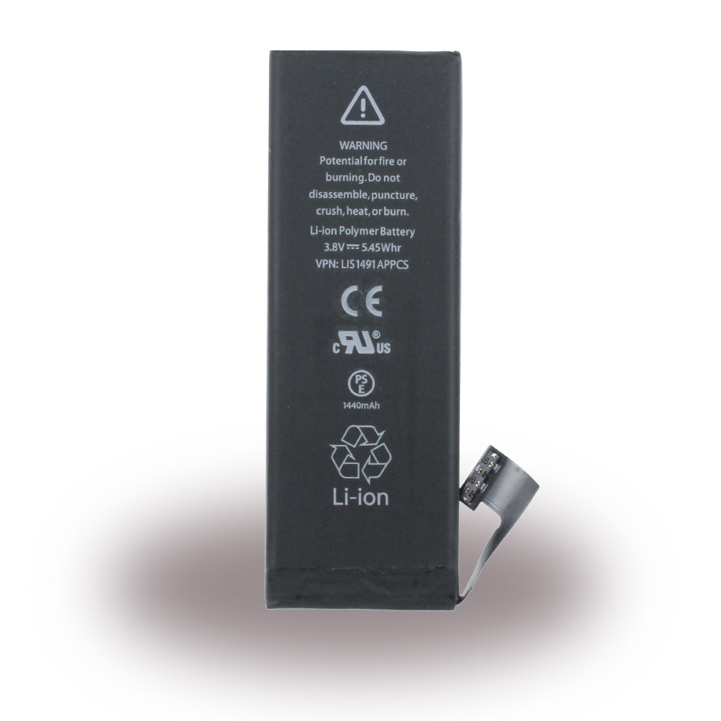 Quality Accessory - APN616-0613 - Lithium Ion Polymer Battery - Apple iPhone 5 - 1440mAh