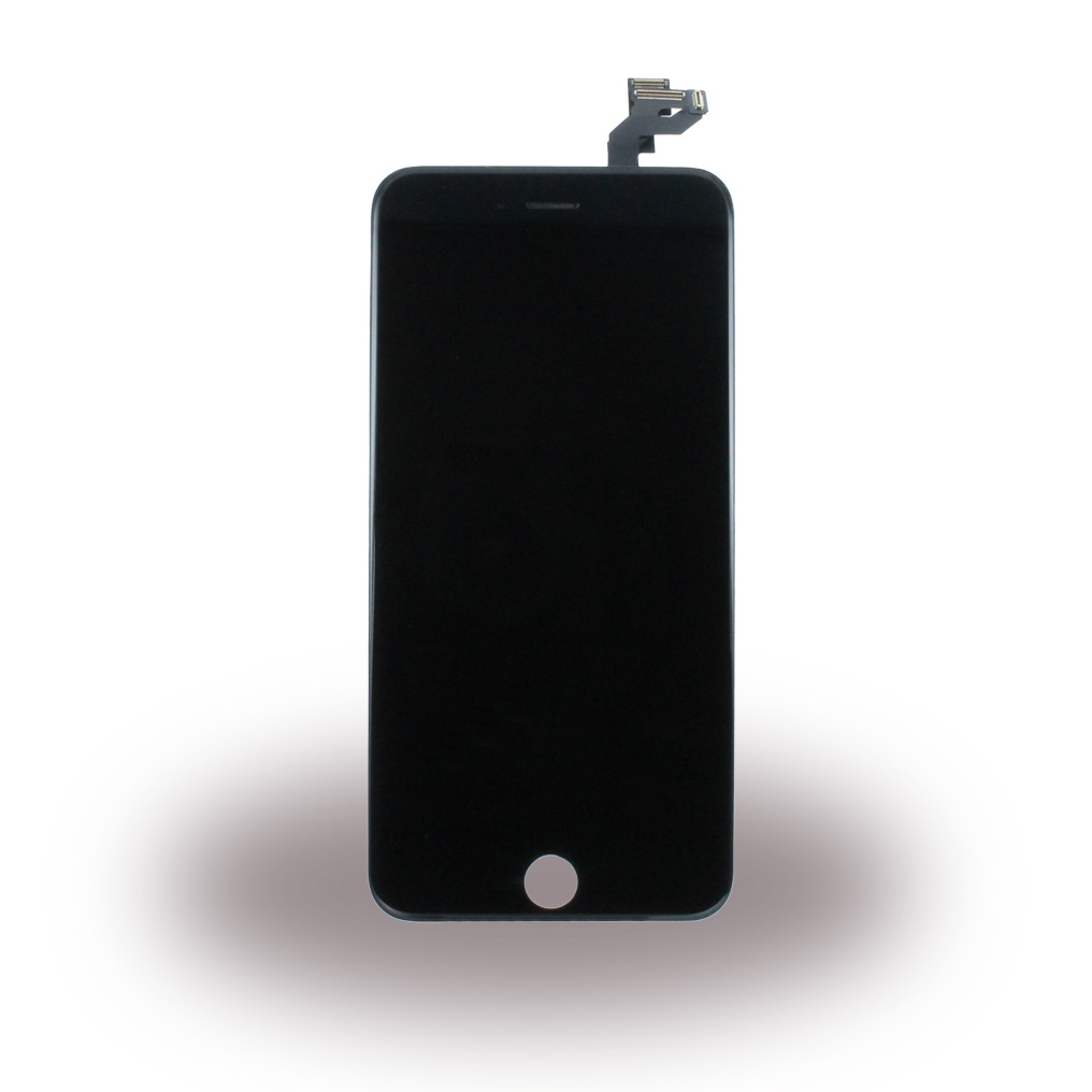 Spare Part - Complete LCD Display Module incl. Light Sensor + Front Camera - Apple iPhone 6s Plus - Black