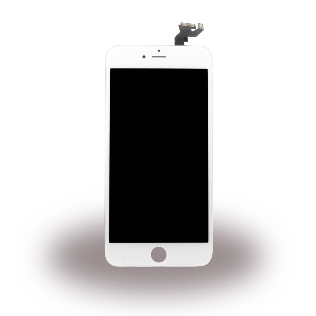 Spare Part - Complete LCD Display Module incl. Light Sensor + Front Camera - Apple iPhone 6s Plus - White