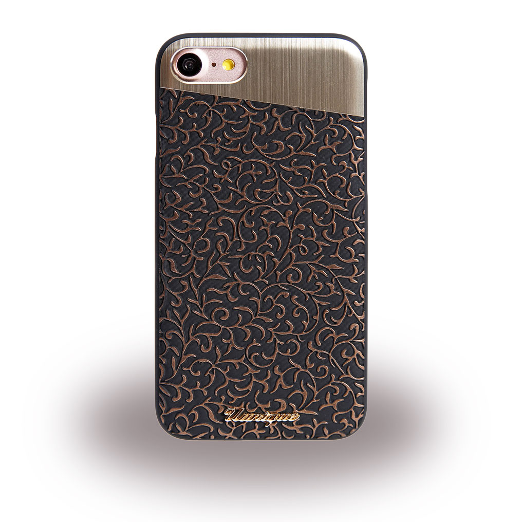 Uunique- Filigree UUFFIP7HS004 - Hard Cover - Apple iPhone 7 - Copper