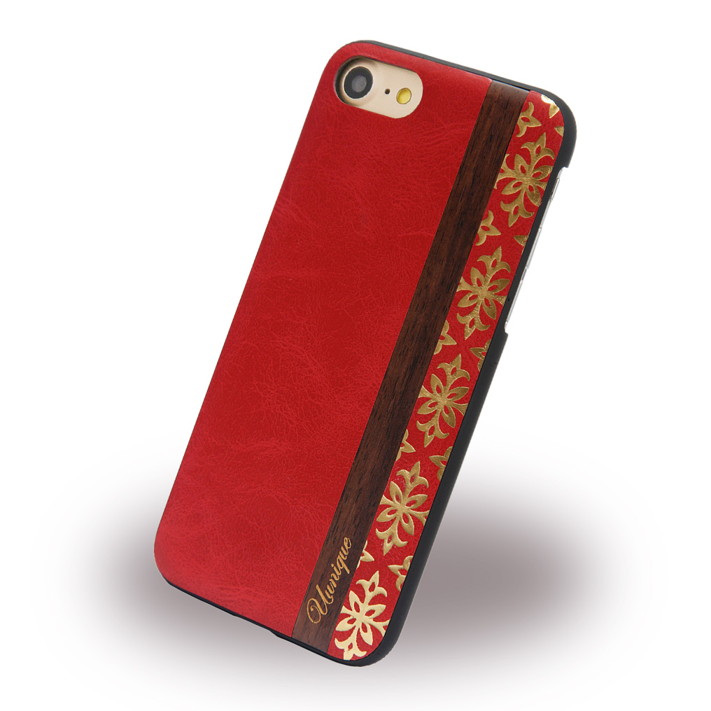 Uunique - Queens UUFFIP7HS001 - Hard Cover - Apple iPhone 7 - Red
