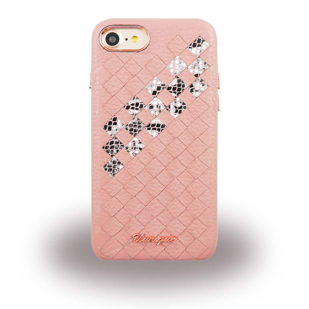 Uunique - Snake UUFFIP7HS007 - Hard Cover - Apple iPhone 7 - Pink