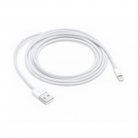 Apple - MD819ZM/A - Lightning to USB Cable - 2m - iPhone 7, 7+, 8, 8+, X, Xs, Xr, Xs Max - White