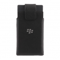 BlackBerry - ACC-60113-001 - Leather Holster Pouch/Case - Leap (Rio)