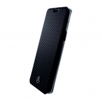 Mercedes Benz - Dynamic - Carbon Book Cover - Samsung G960F Galaxy S9
