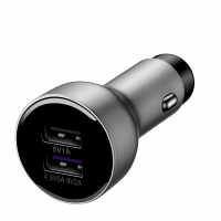 Huawei - AP38 - car Dual quick charger - Black/silver