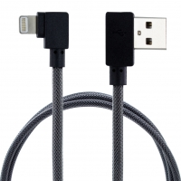 Cyoo - Angled USB - Lightning Charging + Data Cable