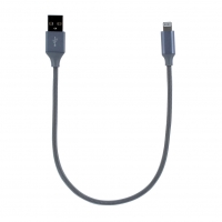 Cyoo - Angled USB - Lightning Charging + Data Cable - 30cm