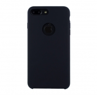 Cyoo - Premium - Apple iPhone 7 Plus & 8 Plus - Schwarz Liquid Silicon Hard Cover Schutzhülle Handyhülle