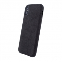 Cyoo - Alcantara - iPhone 6.5 XS Max - Smooth Case Cover Schutzhülle Handyhülle Luxus