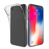 Cyoo - Silicone Cover - iPhone Xs Max - Transparent