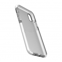 Cyoo - Dot Back Shockproof - Apple iPhone XS Max - Transparent Case Cover Schutzhülle Handyhülle Outdoor