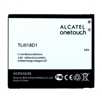 Alcatel - Li-Ion Battery - TLi018D1 - One Touch Pop D5, 5038D -  1800mAh