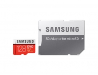 Samsung - EVO Plus microSD Card + SD Adapter - 128GB