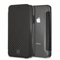 Mercedes Benz - Dynamic - Apple iPhone XS Max - Carbon Hard Cover Case Schutzhülle Hülle