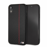 BMW - M-Collection - Bi-Material - Apple iPhone 6.1 - Carbon Hard Cover Hülle