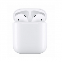 Apple - MRXJ2ZM/A AirPods 2. Generation with inductiv Case
