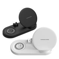 Cyoo - 5in1 Powerful Wireless  charging pad -  White