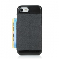 Incipio - Esquire Series - iPhone 6/6s/7/8 - Dark Grey - Cardholder