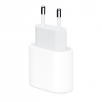 Apple - MU7V2ZM/A - Cargerr 18W - USB Typ-C - White