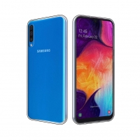 Cyoo - Silicon Case - Samsung A505F Galaxy A50 (2019)- Ultra Slim - transparent