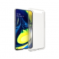 Cyoo - Silicon Case - Samsung Galaxy A80/A90 - Ultra Slim - transparent
