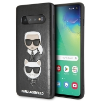 Karl Lagerfeld - Choupette Embossed Case-  Samsung Galaxy S10+