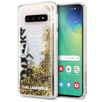 Lagerfeld - Glitter Floatting Case-  Samsung Galaxy  S10