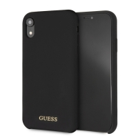 Guess - Silicon Impact - Case - Apple iPhone Xr - Black