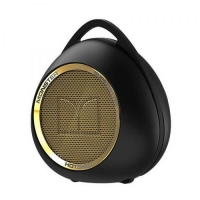 Monster - Superstar Hotshot Bluetooth Speaker - Black / Gold