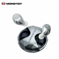 Monster - Clarity HD Airlinks - Bluetooth Headset - Silver