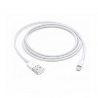 Apple - MQUE2ZM/A - Lightning to USB Cable - 1m - iPhone 7,7+, 8, 8+, X, Xs, Xr, Xs Max - White