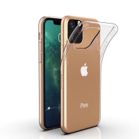Cyoo - Silicon Case - iPhone XI MAX - Transparent