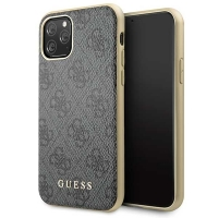 Guess - Charms - Hardcover 4G - Apple iPhone 11 pro max - grey