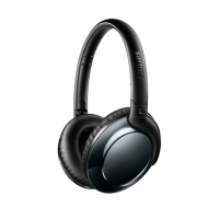 Philips - SHB4805DC - Flite Wireless Everlite Headphone - 3.5mm Jack - Black