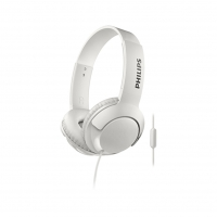 Philips - SHL3075WT - Bass + On-Ear Headphone - 3.5mm Jack - White