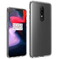 ONEPLUS - Original Silicon Case -  Oneplus 6, 6t  - transparent black