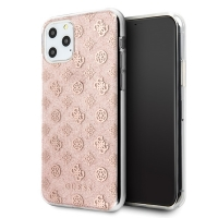 Guess - 4G Peony Solid Glitter Case - Apple iPhone 11 - Pink