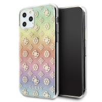 Guess - 4G Poony Iridescent Case - Apple iPhone 11 - Multicolor