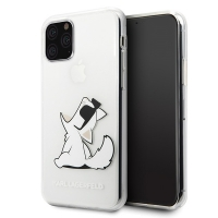 Karl Lagerfeld - Choupette Gradient Case - Apple iPhone 11 - Trasnsparent
