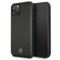 Mercedes Benz - Dynamic Carbon Hard Cover - Apple iPhone 11 - black