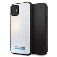 Guess - Iridescent Case - Apple iPhone 11 Pro Max -  Silver
