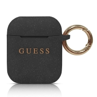 Guess - Silicon Cover Ring -  Airpods - Black