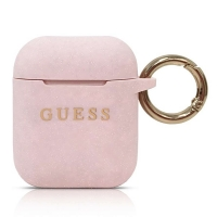 Guess - Silicon Cover Ring -  Airpods - Pink