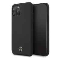 Mercedes-Benz - Liquid Hard Case - Apple iPhone 11 - Black